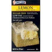 Sweet 'N Low Lemon Cake Mix