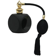 ブラック クリスタルアトマイザー フランス製 ブラッククリスタル香水瓶 881145