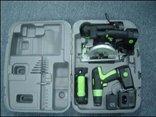 Kawasaki 840055 Black 19.2-Volt 4-Tool Cordless Combo Kit