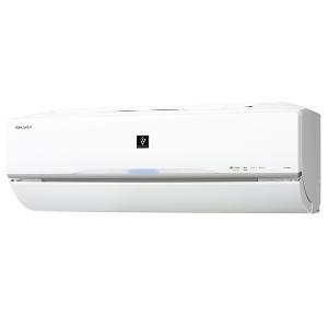 【クリックで詳細表示】シャープ 【エアコン】高濃度プラズマクラスター25000搭載おもに10畳用(ホワイト系) AY-B28VX-W