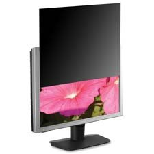 "Compucessory Products - Privacy Filter, f/22"" Widescreen Monitors, 18-11/16""x11-11/16"" - Sold as 1 EA - Blackout Privacy Filter is designed to prevent unauthorized viewing on wide-screen monitors. Design helps ensure the privacy of on-screen data on your LCD monitor. Microlouver technology creates a narrow viewing angle so image is only visible to those directly in front of the screen. Side view is black. Frameless filter overlays LCD surface for a built-in look. Filter also eliminates glare, in"