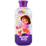 Nickelodeon Dora the Explorer Bubble Bath Berry Adventure 12 Fl Oz - 1