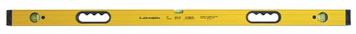 Johnson Level & Tool 9896-HH 96-Inch Aluminum Box Beam Level