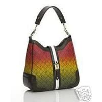 L.A.M.B by Gwen Stefani Rasta OMBRE Commodore Hobo Bag