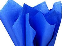 "Bulk Royal Presidential Sapphire Blue Wrap Tissue Paper 15"" X 20"" - 100 Sheets front-892305"