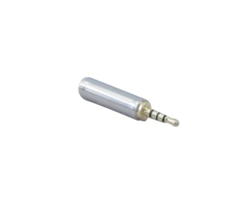 """Ycs Basics All Metal 2.5Mm (3/32"""") Male To 3.5Mm (1/8"""") Female 4 Conductor (Trrs) Adapter"""