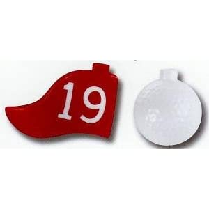 19th Hole Golf Ball Miniature Party Lights