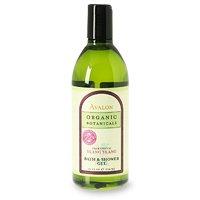 Avalon Organics Ylang Ylang Bath And Shower Gel, 12 -Ounce Bottle