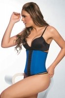 Ann Chery Deportiva Sport Latex Waist Cincher Body Shaper - #1 Seller! (Azul Blue, 3X-42)