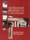 img - for Architectural Materials for Construction book / textbook / text book