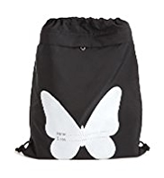 Butterfly Junior School Drawstring Sports Bag