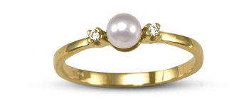 Dido Japanese Akoya Cultured Pearl Ring