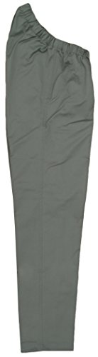 Adrians Unisex Wheelchair Sitter Pants (Adaptations By Adrian) Stretch Twill (36W x 34L, Taupe) (Wheelchair Clothing compare prices)
