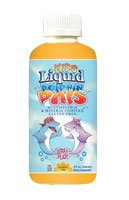 Country Life Kids Liquid Dolphin Pals Multi-Vitamin And Mineral Complex, Berry Splash, 8-Ounce