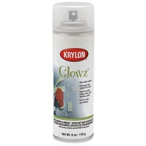 glowz glow in the dark paint 6 oz glowz glow in the dark paint. Black Bedroom Furniture Sets. Home Design Ideas