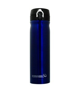 Cosmos ® Blue Stainless steel insulated water bottle 550mL (keep water cool and warm)+Cosmos cable tie