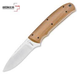 Boker Plus Knives P01786 Dozier Arkansas Traveler Fixed Blade Knife with Olive Wood Handles