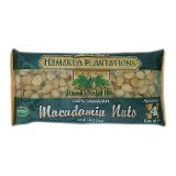100% Hawaiian Dry Roasted Baking Macadamia Nuts 1.25 lb. Bag
