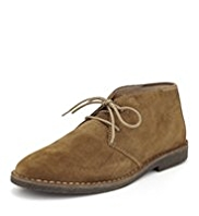 Blue Harbour Suede Desert Boots with Stain Defence™