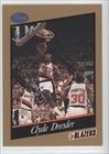 Clyde Drexler Portland Trail Blazers (Basketball Card) 1991-92 Franz Portland Trail... by Franz Portland Trail Blazers