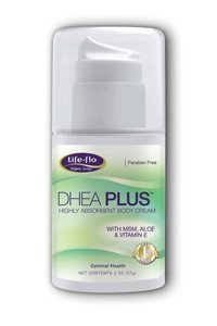 Life Flo Health, DHEA Plus, Highly Absorbent Body Cream, 57g