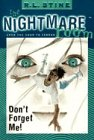 Don't Forget Me (Nightmare Room) (0006485529) by R. L. Stine