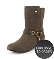 Autograph Suede Water Resistant Boots with Insolia® Flex