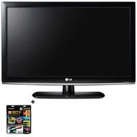 LG 32LK330 32 inch Class LCD HDTV, with Basic Accessory Kit (2 HDMI Cables, 1 RGB Cable, 1 Audio Cable, Plasma / LCD Cleaning Kit)