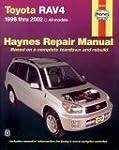 Haynes Toyota Rav4 1996 Thru 2002