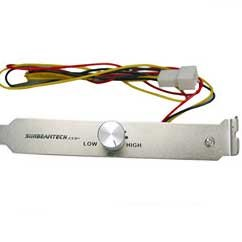 Sunbeam - Variateur de Vitesse pour Ventilateur - Bracket PCI - Fan Controller