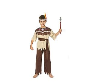 Just For Fun Indian Boy Fancy Dress Costume (child size) - Small