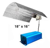 400 watt Bat Wing MH/HPS Electronic Digital Grow Light System