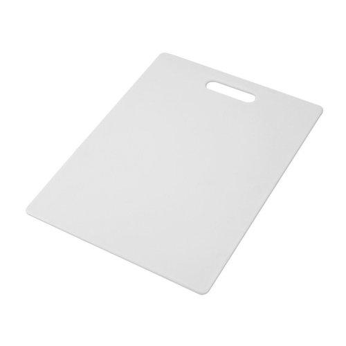 Farberware Non-Slip Poly Cutting Board, 11-Inch-by-14-Inch, White (Farberware Poly Cutting Board compare prices)