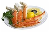 Charleston Seafood Frozen King Crab Legs, 32-Ounce Box