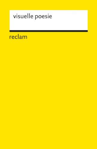 visuelle poesie: anthologie