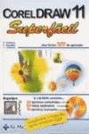 img - for CorelDRAW 11 superf cil book / textbook / text book