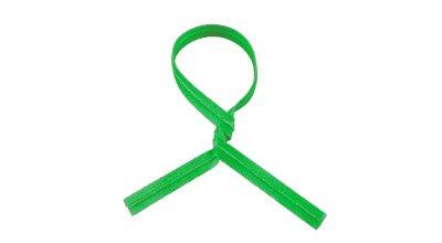 Green Paper/Plastic Spooled Twist Ties (1,500 Feet per Spool)