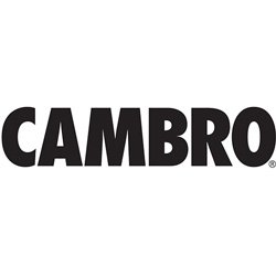 Cambro 25S800-151 8-1/2-Inch Camrack Polypropylene Stemware and Tumbler Glass Rack with 25 Compartments, Full, Soft Gray