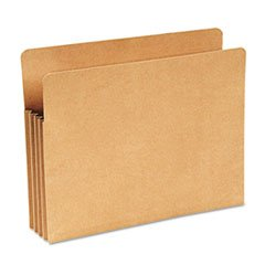 Wilson Jones Filing Pocket, Letter Size, Recycled, Kraft Brown, Box of 25 (WCC68RK)