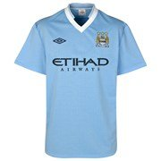 11-12 Man City Home Shirt-48