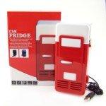 Red Mini Fridge front-591117