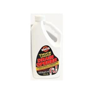 ROOTO CORPORATION THE NHS 1275 DRAIN CLEANER - 1/2 GAL(PACK OF 6)
