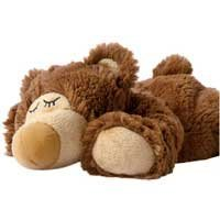 Beddy Bear Warmies - Osito Dormilón marrón - tierno peluche de calor - 100% productos de calor para microondas por Greenlife Value GmbH c/o FIEGE Logistik Stiftung& - Bebe Hogar