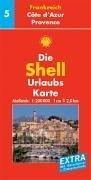 Shell Urlaubskarte Frankreich 05. Cote d'Azur,