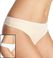 2 Pack Low Rise Thongs
