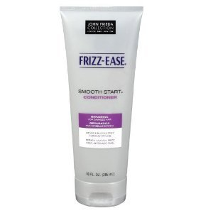 Frizz Ease Smooth Start Repairing Conditioner by John Frieda for Damaged Hair, 10 Ounce