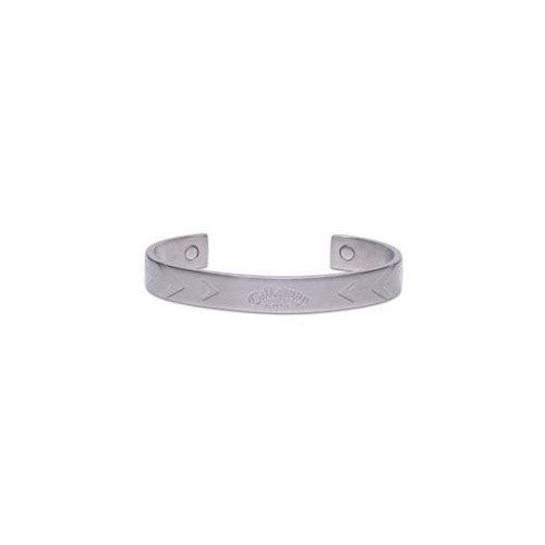 Callaway X-Series Chevron Cuff Ionetix Bracelet - Silver/7