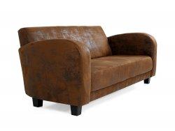 ANTON Sofa 3-Sitzer Gobi braun