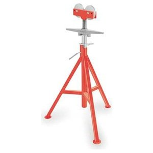 Roller Head Pipe Stand