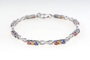 ANYA Multi-Colored Sapphire Bracelet